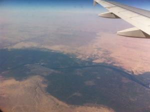El Nilo desde las alturas