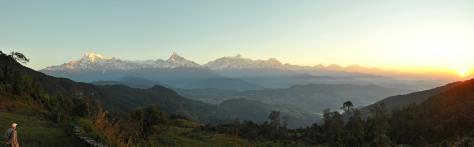 Panorama Anapurnas