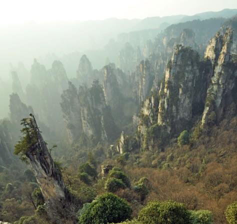 zhanjiajie park